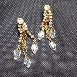 Clip dangling earrings.